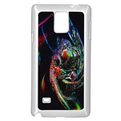Abstraction Dive From Inside Samsung Galaxy Note 4 Case (white) by Simbadda