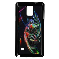 Abstraction Dive From Inside Samsung Galaxy Note 4 Case (black) by Simbadda