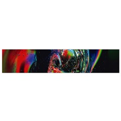 Abstraction Dive From Inside Flano Scarf (small) by Simbadda