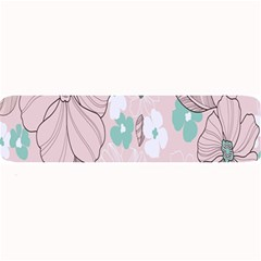 Background Texture Flowers Leaves Buds Large Bar Mats