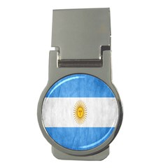 Argentina Texture Background Money Clips (round)  by Simbadda