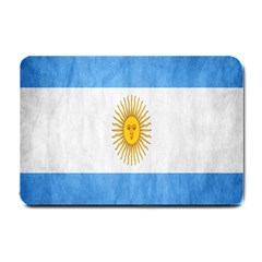 Argentina Texture Background Small Doormat  by Simbadda