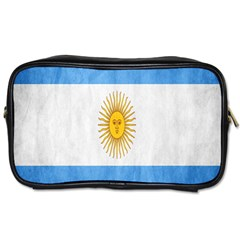 Argentina Texture Background Toiletries Bags by Simbadda