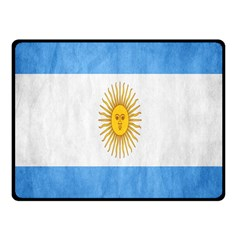 Argentina Texture Background Fleece Blanket (small) by Simbadda