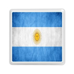 Argentina Texture Background Memory Card Reader (square)