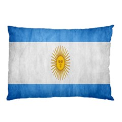 Argentina Texture Background Pillow Case (two Sides) by Simbadda