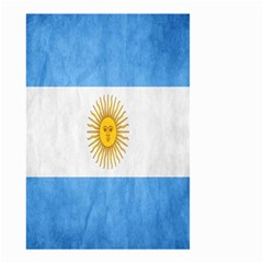 Argentina Texture Background Small Garden Flag (two Sides) by Simbadda
