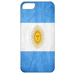 Argentina Texture Background Apple Iphone 5 Classic Hardshell Case by Simbadda