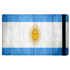 Argentina Texture Background Apple Ipad 2 Flip Case by Simbadda