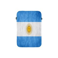 Argentina Texture Background Apple Ipad Mini Protective Soft Cases by Simbadda