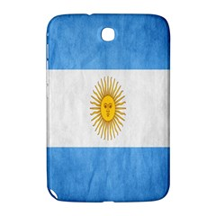 Argentina Texture Background Samsung Galaxy Note 8 0 N5100 Hardshell Case  by Simbadda