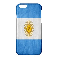 Argentina Texture Background Apple Iphone 6 Plus/6s Plus Hardshell Case by Simbadda