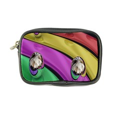 Balloons Colorful Rainbow Metal Coin Purse by Simbadda