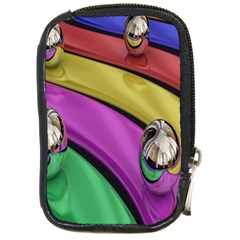 Balloons Colorful Rainbow Metal Compact Camera Cases by Simbadda