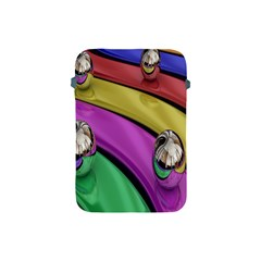 Balloons Colorful Rainbow Metal Apple Ipad Mini Protective Soft Cases by Simbadda