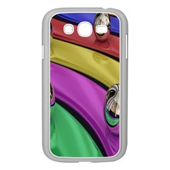 Balloons Colorful Rainbow Metal Samsung Galaxy Grand Duos I9082 Case (white)