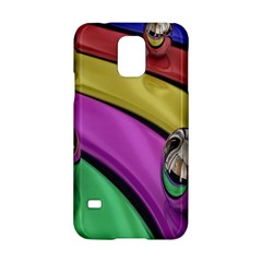 Balloons Colorful Rainbow Metal Samsung Galaxy S5 Hardshell Case  by Simbadda