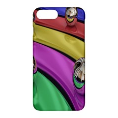 Balloons Colorful Rainbow Metal Apple Iphone 7 Plus Hardshell Case by Simbadda