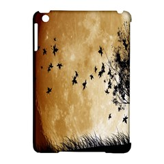 Birds Sky Planet Moon Shadow Apple Ipad Mini Hardshell Case (compatible With Smart Cover)