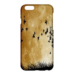 Birds Sky Planet Moon Shadow Apple Iphone 6 Plus/6s Plus Hardshell Case by Simbadda
