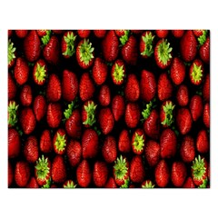 Berry Strawberry Many Rectangular Jigsaw Puzzl by Simbadda