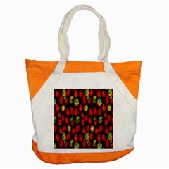 Berry Strawberry Many Accent Tote Bag by Simbadda
