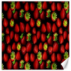 Berry Strawberry Many Canvas 20  X 20