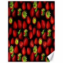 Berry Strawberry Many Canvas 18  X 24   by Simbadda