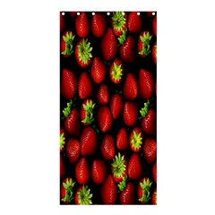 Berry Strawberry Many Shower Curtain 36  X 72  (stall)  by Simbadda