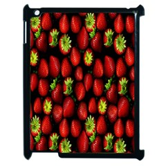 Berry Strawberry Many Apple Ipad 2 Case (black) by Simbadda