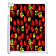 Berry Strawberry Many Apple Ipad 2 Case (white) by Simbadda