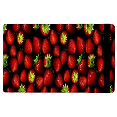 Berry Strawberry Many Apple Ipad 3/4 Flip Case by Simbadda
