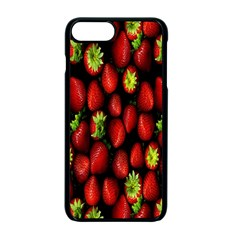 Berry Strawberry Many Apple Iphone 7 Plus Seamless Case (black) by Simbadda