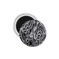 Black White Pattern Shape Patterns 1 75  Magnets by Simbadda