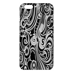 Black White Pattern Shape Patterns Iphone 6 Plus/6s Plus Tpu Case by Simbadda