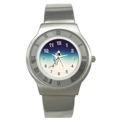Astronaut Stainless Steel Watch by Simbadda