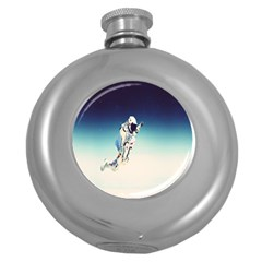 Astronaut Round Hip Flask (5 Oz) by Simbadda