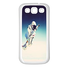 Astronaut Samsung Galaxy S3 Back Case (white) by Simbadda