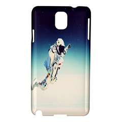 Astronaut Samsung Galaxy Note 3 N9005 Hardshell Case by Simbadda