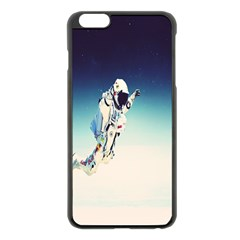Astronaut Apple Iphone 6 Plus/6s Plus Black Enamel Case by Simbadda