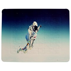 Astronaut Jigsaw Puzzle Photo Stand (rectangular) by Simbadda