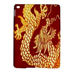 Fabric Pattern Dragon Embroidery Texture Ipad Air 2 Hardshell Cases by Simbadda
