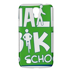 Bicycle Walk Bike School Sign Green Blue Samsung Galaxy Mega 6 3  I9200 Hardshell Case by Alisyart