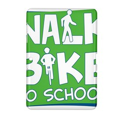 Bicycle Walk Bike School Sign Green Blue Samsung Galaxy Tab 2 (10 1 ) P5100 Hardshell Case  by Alisyart