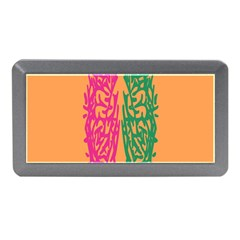 Brian Pink Green Orange Smart Memory Card Reader (mini) by Alisyart
