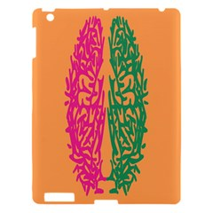 Brian Pink Green Orange Smart Apple Ipad 3/4 Hardshell Case by Alisyart