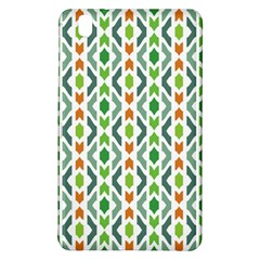 Chevron Wave Green Orange Samsung Galaxy Tab Pro 8 4 Hardshell Case by Alisyart