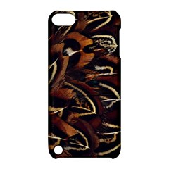 Feathers Bird Black Apple Ipod Touch 5 Hardshell Case With Stand by Simbadda