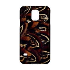 Feathers Bird Black Samsung Galaxy S5 Hardshell Case  by Simbadda