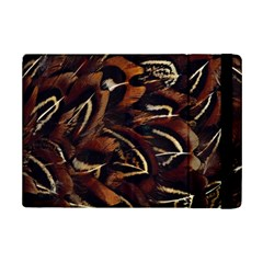 Feathers Bird Black Ipad Mini 2 Flip Cases by Simbadda